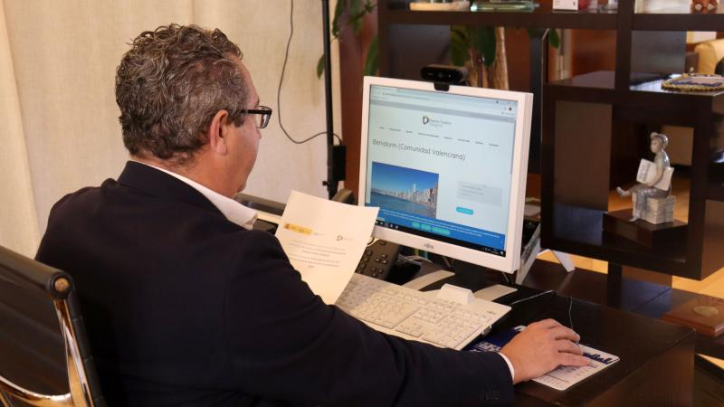 Toni Pérez asiste a la Comisión Ejecutiva de la Red DTI
