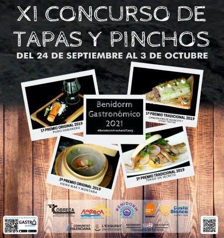 Cartel XI Concurso de Tapas y Pinchos