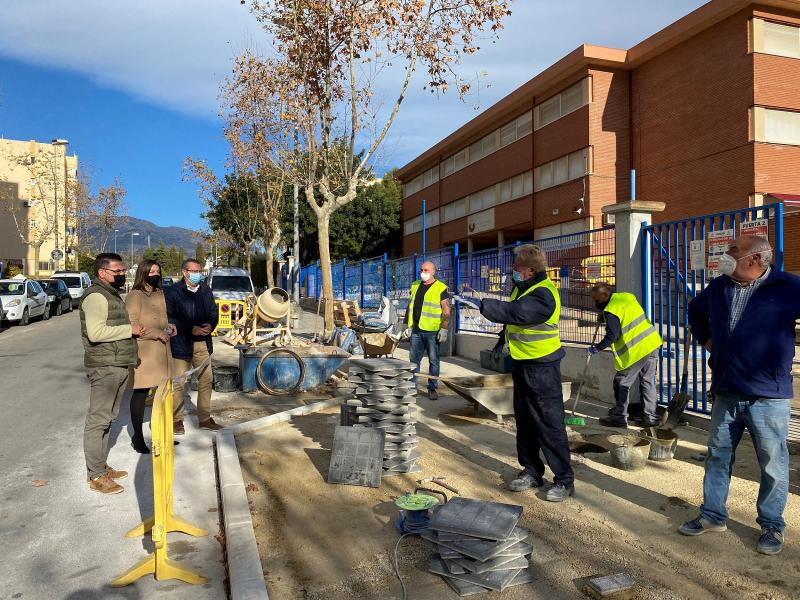 Benidorm invests about 170,000 euros in works in educational centers during the Christmas holidays...
