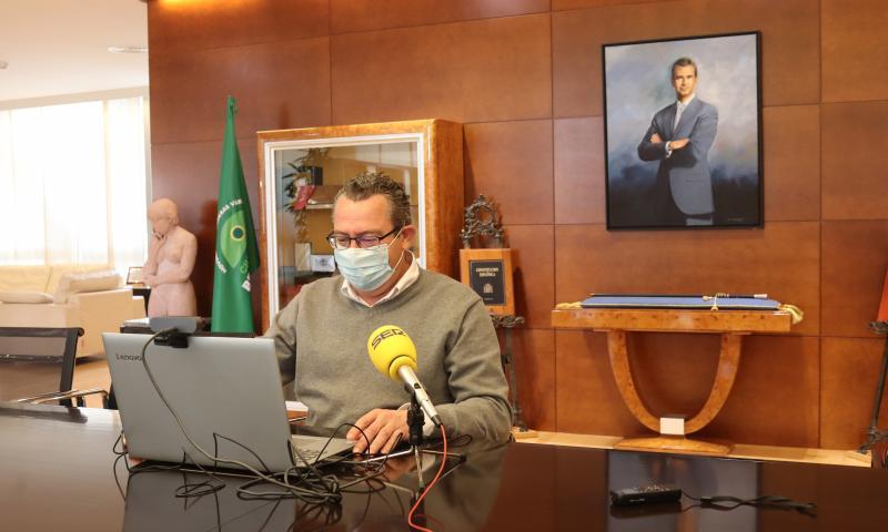 Benidorm reactiva el servici de desinfecció d'accessos a edificis i comunitats...