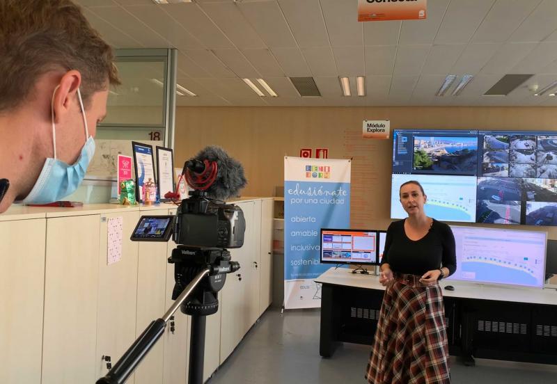 La televisió holandesa s'interessa pel model de turisme sostenible de Benidorm...