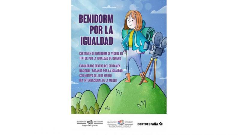 'Benidorm per la Igualtat', certamen de vídeos en TikTok per a conscienciar sobre la igualtat de gènere...