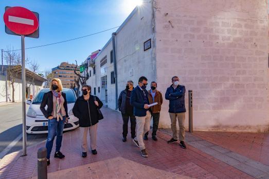 La Edusi arranca en Foietes con la urbanización de Capitán Cortés, Estació y Ginés Cartagena