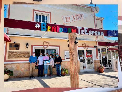 Centro Óptico Visionmar, Contalles y Restaurante El Niño, premiados del Concurso #BenidormTeEspera