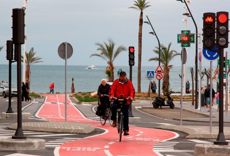 Benidorm planteja aconseguir els 134 quilòmetres de vies ciclistes a final d'any...