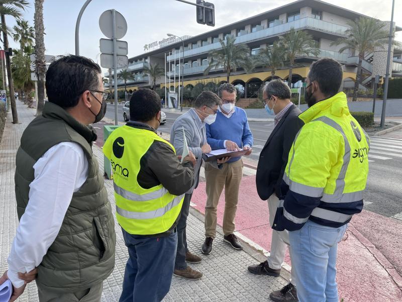 Benidorm actualitza la imatge i infraestructures del tram més transitat de Severo Ochoa...
