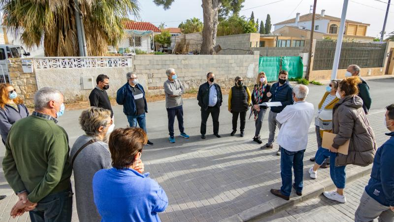 Es presenta als veïns el projecte d'urbanització de Finca Barrina...