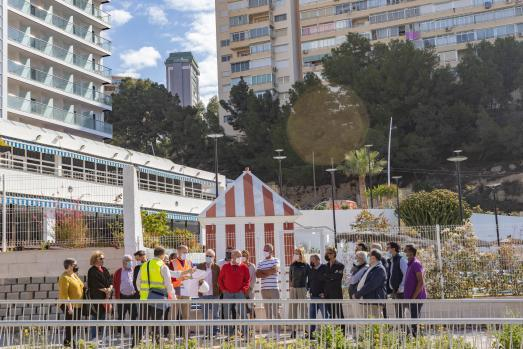 Las obras del Plan Parcial 2/1 configuran la trama urbana de Poniente