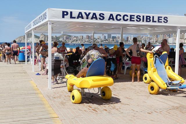Benidorm, candidata a ser Destino Turístico Accesible 2018
