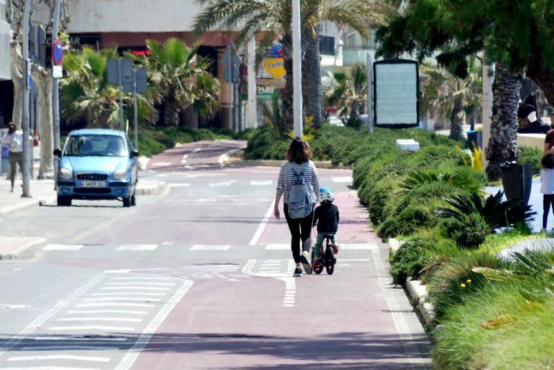 Benidorm peatonaliza Armada Española, el tramo final de Sant Pere y El Greco y suma más 9 kilómetros de vías peatonales