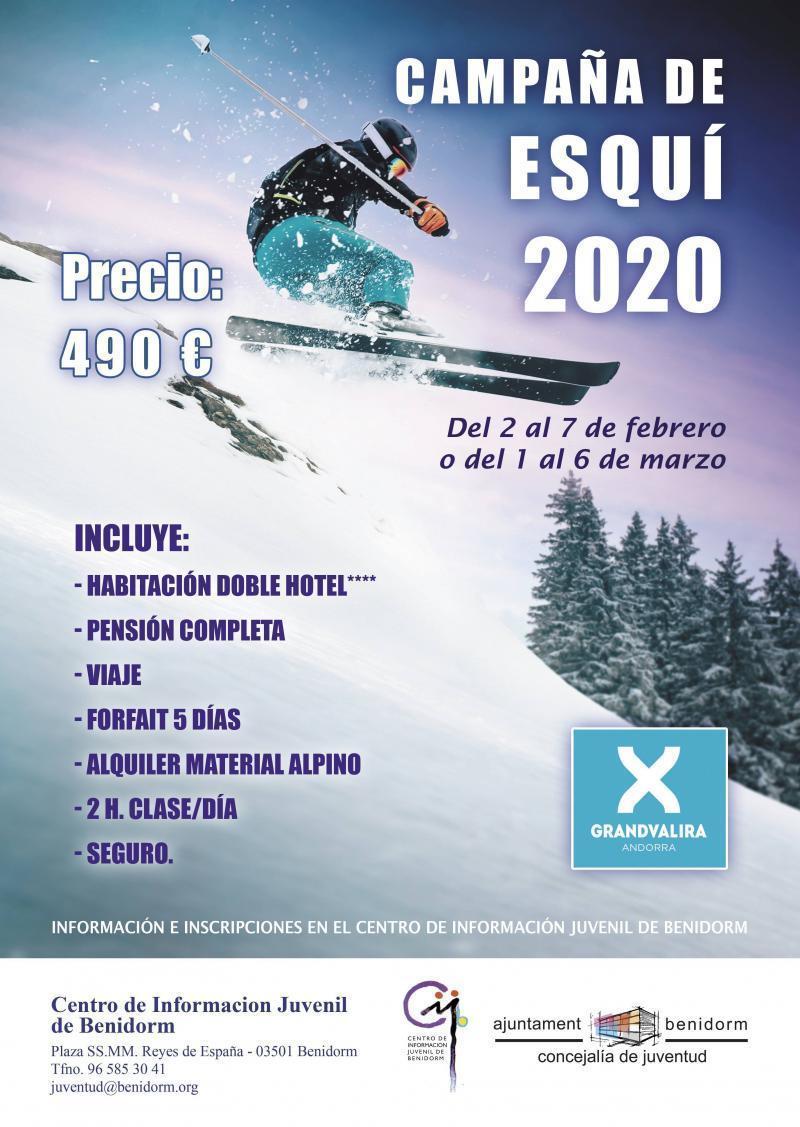 Campaña de Esquí 2020