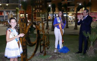 Benidorm inicia los actos de la festividad de la Comunidad Valenciana con la nominación de la avenida 9 d'octubre