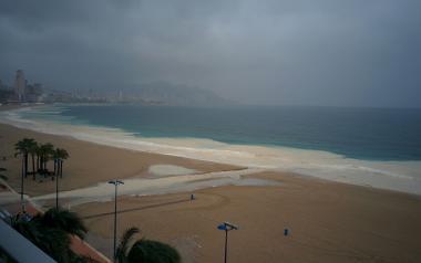 Benidorm solicita al Gobierno y la Generalitat más de 800.000 euros en ayudas por los daños ocasionados por las lluvias