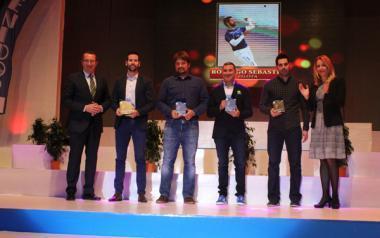 Liliana Fernández, Rodrigo Sebastiá, Alberto Iñigo, Miguel Fuster i Fran Marco premiats en la V Gala de l'Esport