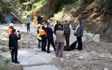 Benidorm encauza y regenera ambientalmente un tramo del barranco de l'Aigüera y protege la red de agua potable