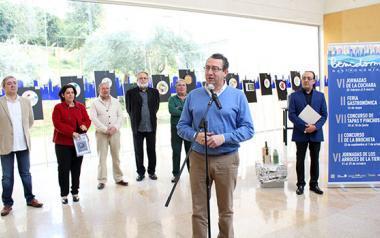 Las VI Jornadas de la Cuchara de Benidorm abren en el Espai d'Art con el 'Menú degustación' de Alejandro Guijarro