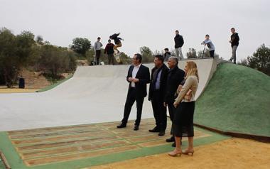 Benidorm pone en funcionamiento un Skate Park en cuyo diseño han colaborado los propios usuarios