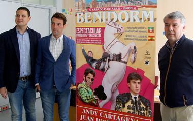 El rejoneador Andy Cartagena celebrará los 20 años de su alternativa con 6 toros en Benidorm