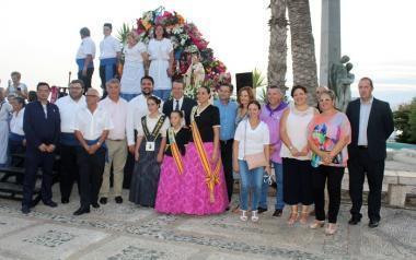 Benidorm ofrenda a la Virgen del Carmen y se prepara para la tradicional procesión marinera