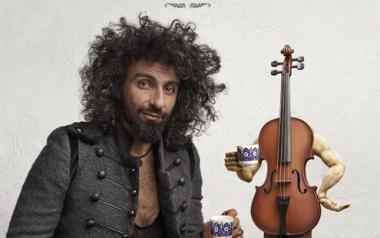Ara Malikian y 'La increíble gira de Violín' estarán el próximo martes en Benidorm