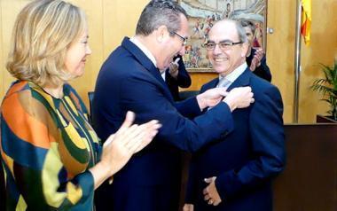 Benidorm atorga al metge Eusebi Chiner el guardó de veí exemplar 2017