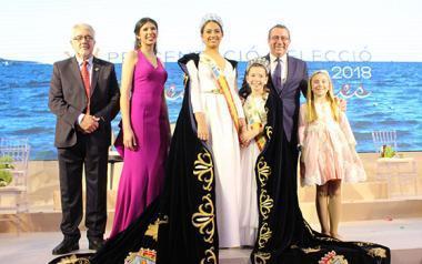Fátima Carrobles Espinosa i Anna Calbo García, noves reines de les Festes Majors Patronals 2018 de Benidorm