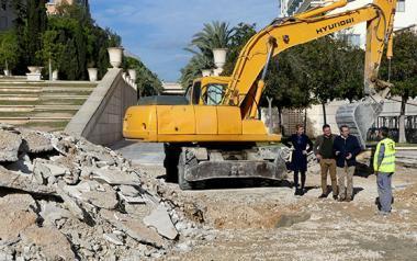 El Ayuntamiento renueva el firme y la instalación eléctrica del auditorio Julio Iglesias del Parque de l'Aigüera