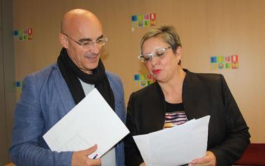 Arturo Cabrillo y Paquita Ripoll hacen balance de su labor institucional durante el año 2.017