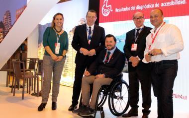 PREDIF crea tres experiencias accesibles por Benidorm para personas con discapacidad