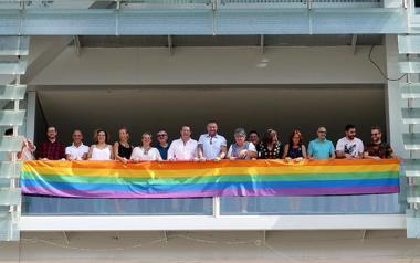Benidorm conmemora el Día del Orgullo LGBTI