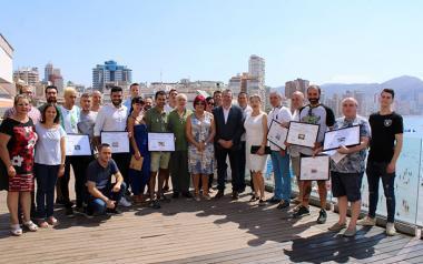 Entrega de los premios del Concurso de Tapas y Pinchos de Benidorm en su octava edición