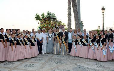 Benidorm se ha volcado con la festividad de la Virgen del Carmen