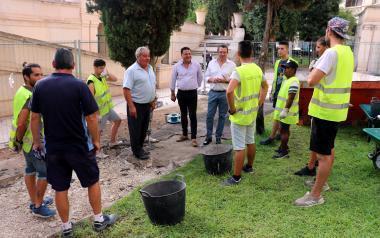 Finalizan su servicio los 64 jóvenes contratados por el Ayuntamiento con fondos europeos a través del programa EMPUJU