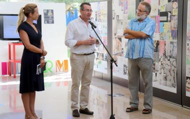 El Espai d'Art acoge una muestra retrospectiva del diseñador municipal Alejandro Guijarro