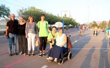 Un millar de jóvenes 'okupan la calle' durante una semana realizando actividades deportivas con motivo de la Semana de la Movilidad