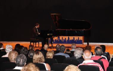 El pianista José María Villegas abre el ciclo de 'Grandes Recitales 2018' organizado por la Concejalía de Cultura
