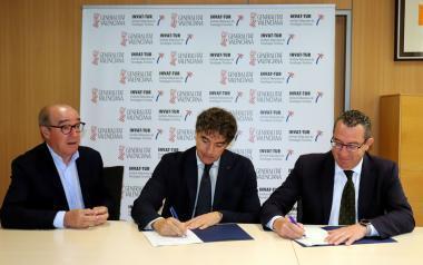 Visit Benidorm i TCV signen un conveni per a la promoció de la destinació