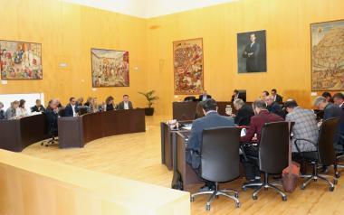 El pleno aprueba pedir la modificación del PORN de Serra Gelada para poder construir balsas de almacenaje de agua depurada