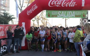 Más de 500 personas despiden el año corriendo la San Silvestre de Benidorm