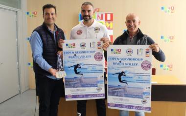 Benidorm estrena noves pistes de vòlei platja per al 'I Open Servigroup Beach Volley'