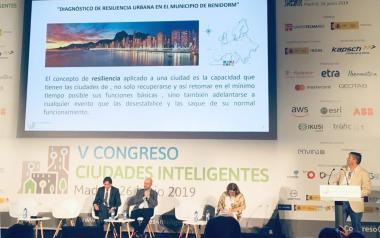 Benidorm exposa el seu projecte de Resiliència Urbana en el V Congrés Ciutats Intel·ligents