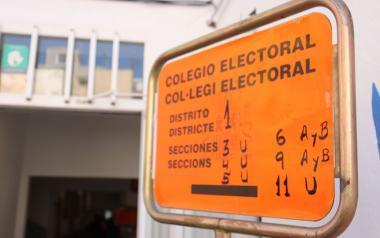 Sin incidencias en el arranque de la jornada electoral