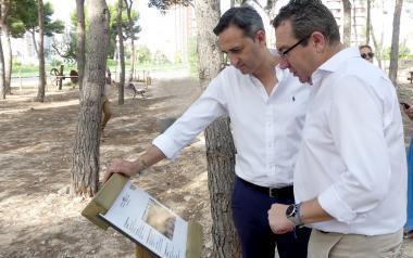 Benidorm complementa el entorno del Parque de la Séquia Mare con dos museos al aire libre dedicados a la agricultura y el agua