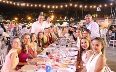 Sopar de gala en honor a Sant Jaume en el Club Nàutic de Benidorm