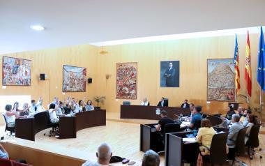 El pleno aprueba el presupuesto de 2019, que asciende a 107 millones de euros