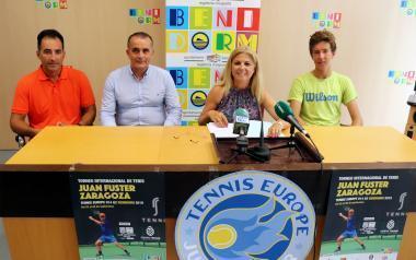 Las grandes promesas del tenis mundial se dan cita en el X Torneo Internacional de Tenis Juan Fuster Zaragoza