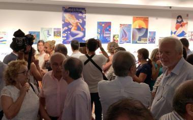 Más de 10.000 personas visitan la Exposición '60ª Aniversario del Festival de Benidorm' en su primer mes
