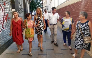 El Ayuntamiento inicia en breve el adoquinado de las calles del Casco Antiguo y prepara el proyecto de alcantarillado de Finca Barrina