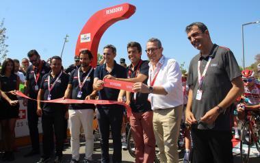 Benidorm se vuelca con La Vuelta