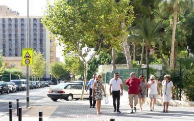 Las calles de Els Tolls, más limpias